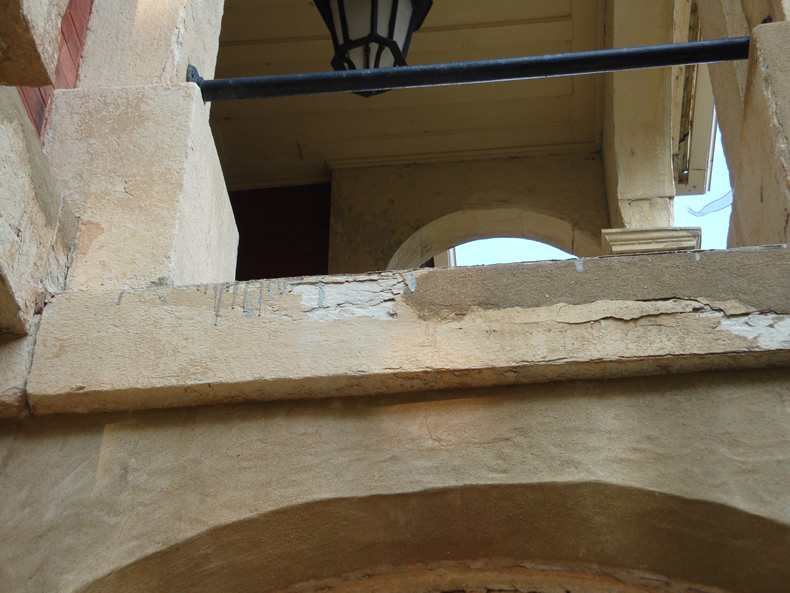 Rma restoration of exterior for Exterior stone work